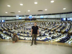 Exkurze do Bruselu Obchodní akademie střední škola Prostějov