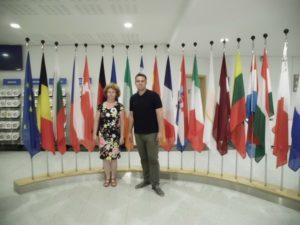 Exkurze Brusel Obchodní akademie střední škola Prostějov