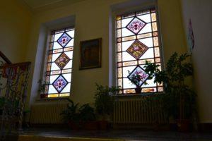 Tradiční vitráže Obchodní akademie Prostějov