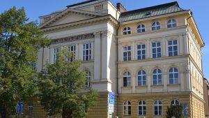 Školní budova Obchodní akademie střední škola Prostějov
