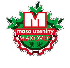 Barevné logo Maso uzeniny Makovec Obchodní akademie střední škola Prostějov