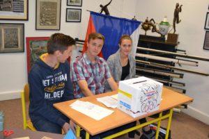 Studentské volby Obchodní akademie střední škola Prostějov