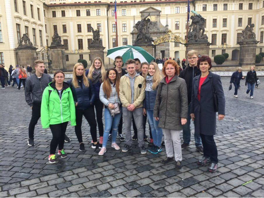 Výlet do Prahy Obchodní akademie střední škola Prostějov